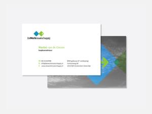 WorksWell, visitekaartjes DeWerkMaatschappij