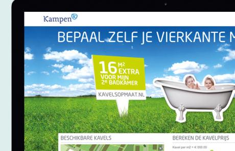 WorksWell, website KavelsOpMaat gemeente Kampen