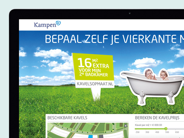 WorksWell, website KavelsOpMaat gemeente Kampen