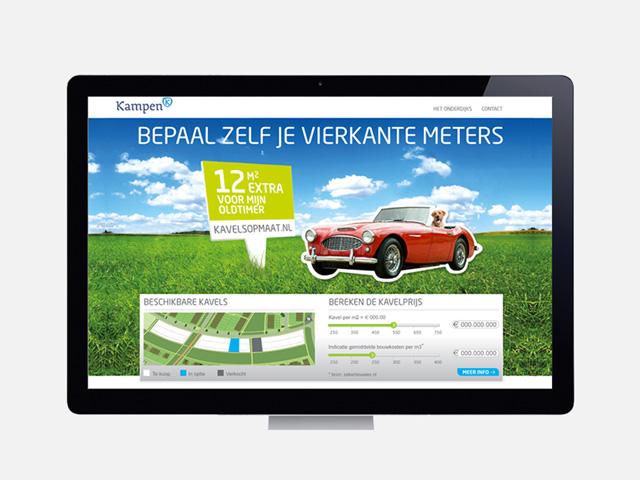 WorksWell, website Kavels op Maat, gemeente Kampen